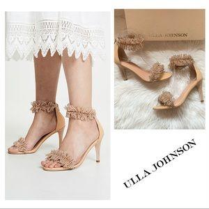 New! ULLA JOHNSON Zuzu Bead Embellished Sandals